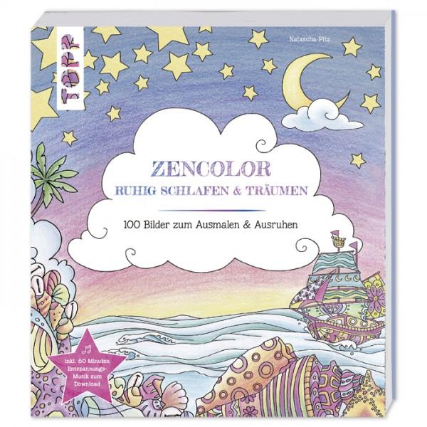 Buch - Zencolor - Ruhig schlafen und träumen 208 Seiten, 21,7x24,1cm, Softcover