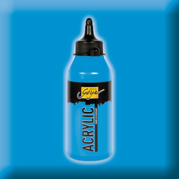 SOLO GOYA Acrylic 250ml lichtblau Acrylfarbe
