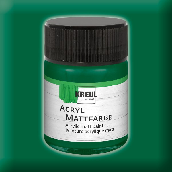 KREUL Acryl-Mattfarbe 50ml grün