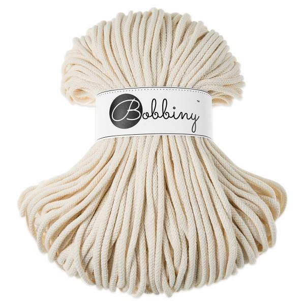 Bobbiny Rope-Garn Premium Ø5mm natural ca. 400g-500g, 100% Baumwolle, LL 100m