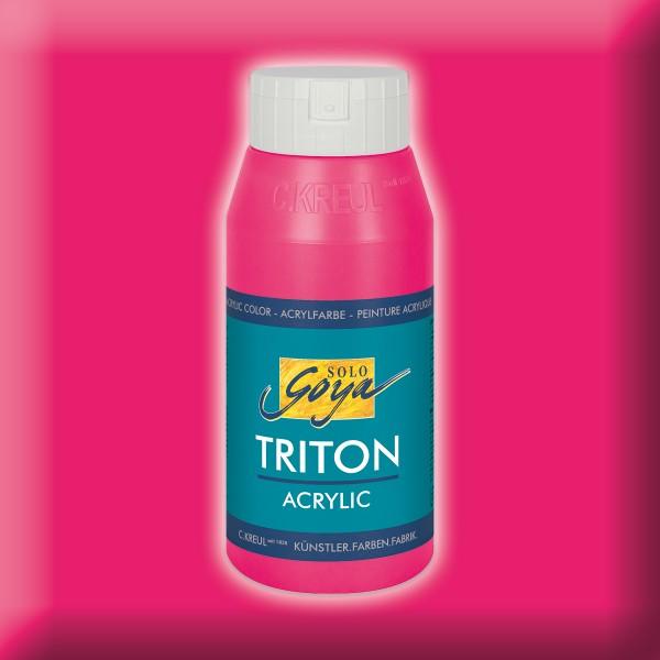 Triton Acrylfarbe 750ml fluoreszierend pink