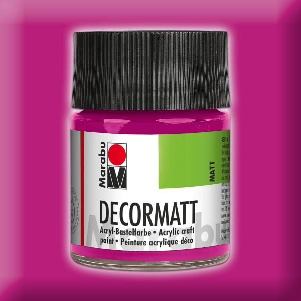 Decorlack Acryl matt 50ml magenta