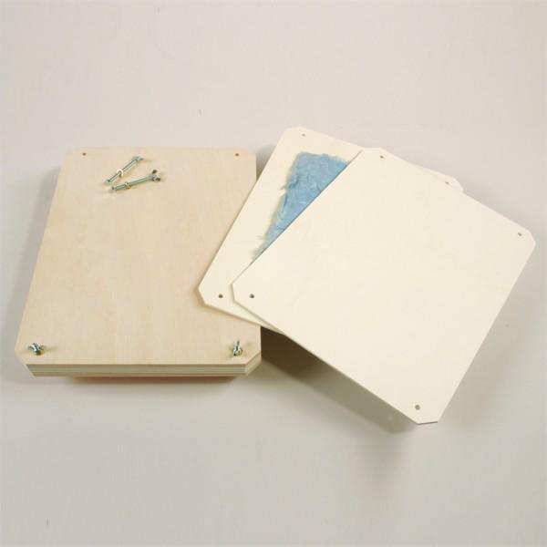 Papierpresse/Pflanzenpresse Holz/Metall 320x230mm