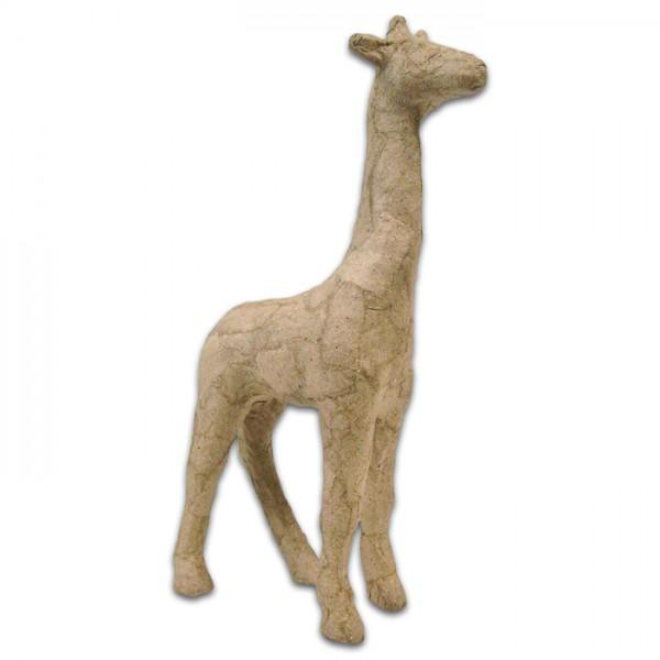 Giraffe Pappmaché 9x3x15cm Größe XS, von Décopatch