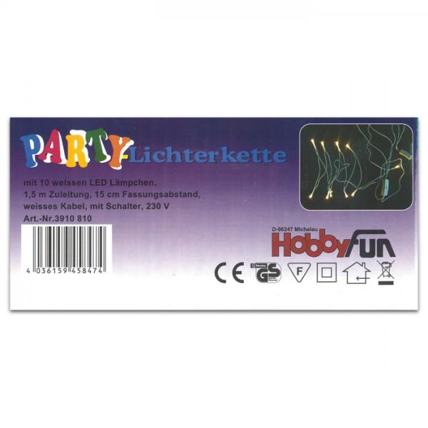 LED-Lichterkette 20-teilig mit Schalter für Innenbeleuchtung