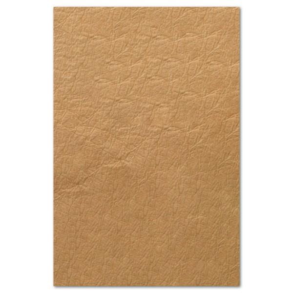 Vegatex Effekt 0,55mm ca.50x75cm Lederoptik sahara Papier-Kunststoff-Mischung, Struktur&Knitteroptik