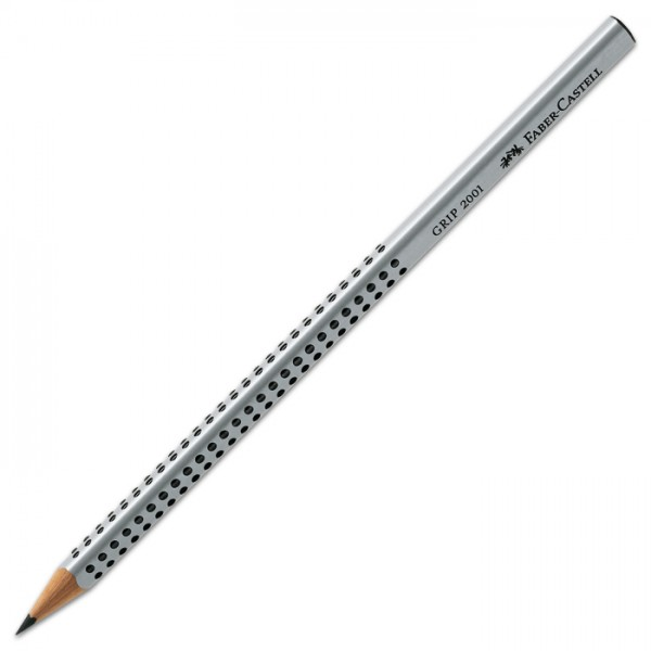 Faber-Castell Bleistift GRIP 2H sehr hart Dreikantform