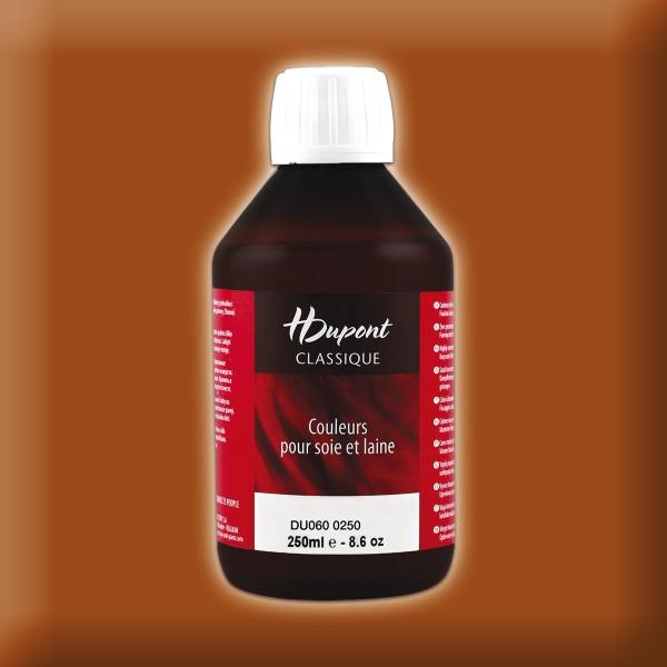 H.Dupont Classique 250ml Caramel/karamell Seidenmalfarbe, Dampffixierung