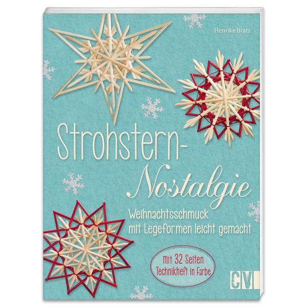 Buch - Strohsterne - Nostalgie 48 Seiten, 16,7x22cm, Softcover