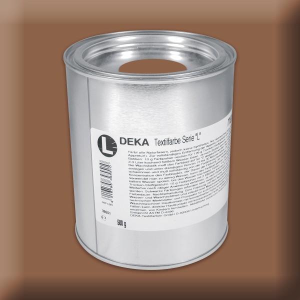 Deka-Serie L Textilfarbe 500g modebraun