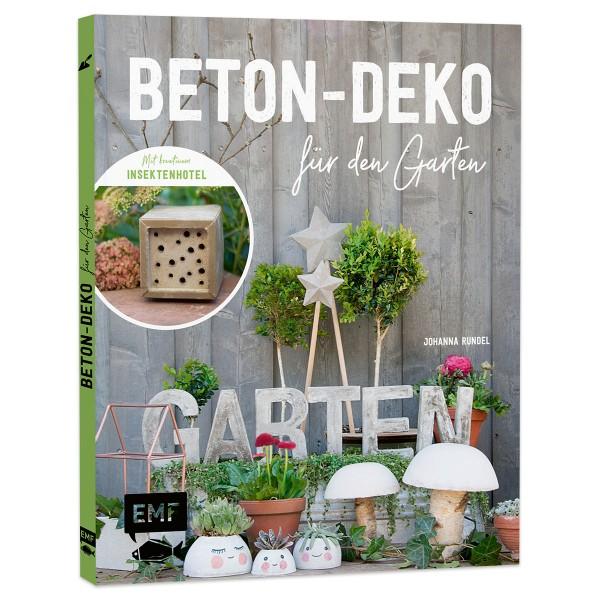 Buch - Beton-Deko für den Garten 48 Seiten, 21,6x17,5cm, Hardcover