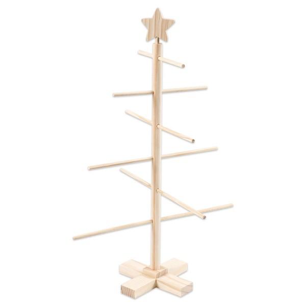 Dekobaum/Friesenbaum 60x40,5cm 9-teilig Holz
