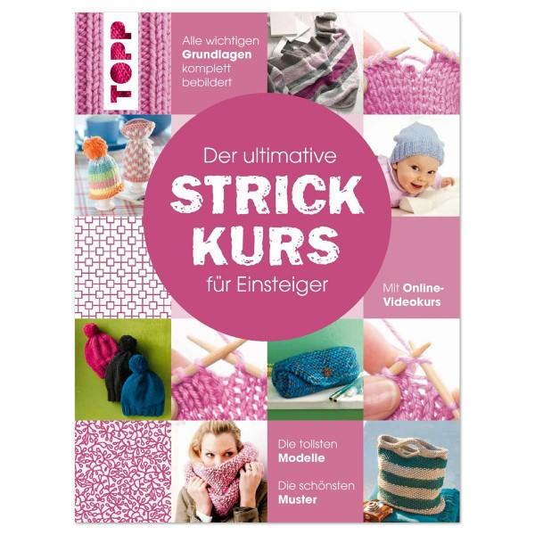 Buch - Der ultimative Strickkurs für Einsteiger 128 Seiten, 21,5x28,5cm, Hardcover