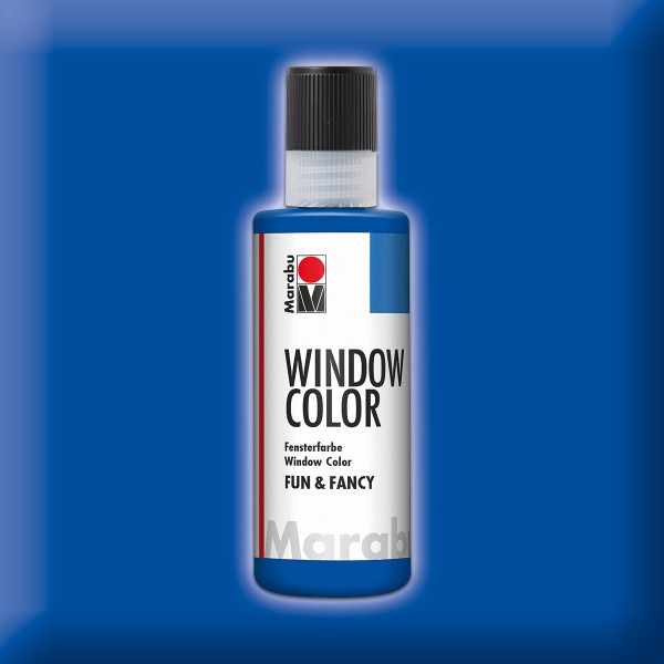 Marabu fun&fancy 80ml ultramarinblau Windowcolor
