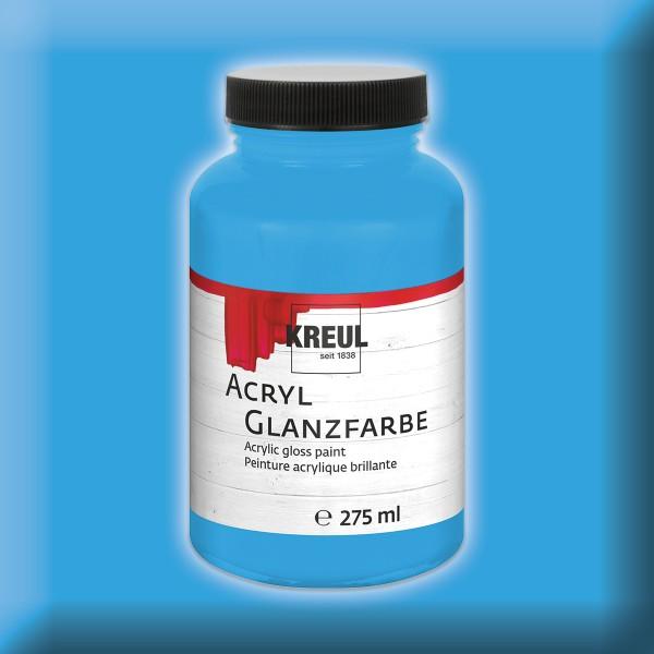 Acryl-Glanzfarbe 275ml himmelblau