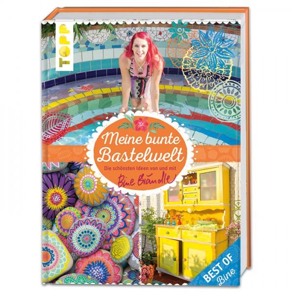 Buch - Meine bunte Bastelwelt 156 Seiten, 21,5x28,5cm, Hardcover
