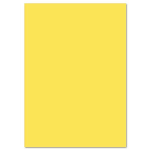 Tonpapier 130g/m² DIN A4 100 Bl. zitronengelb