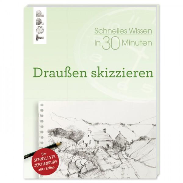 Buch - Schnelles Wissen in 30 Minuten: Draußen skizzieren 64 Seiten, 17x22cm, Softcover