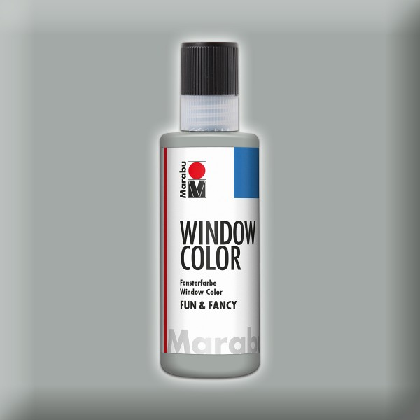 Marabu fun&fancy 80ml silber Windowcolor