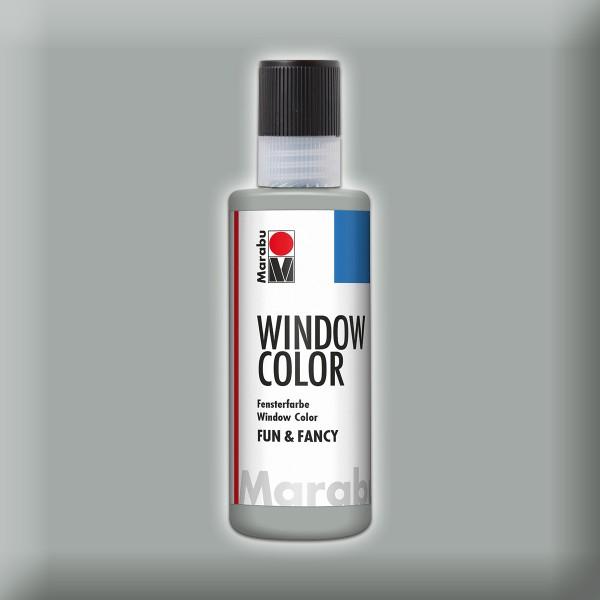 Marabu fun&fancy 80ml silber Windowcolor