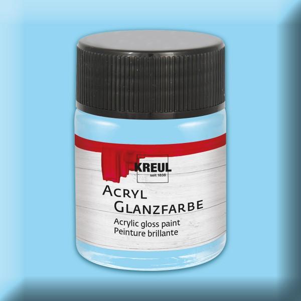 KREUL Acryl-Glanzfarbe 50ml hellblau