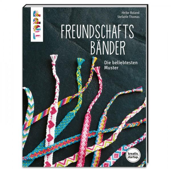 Buch - Freundschaftsbänder: Die beliebtesten Muster 64 Seiten, 17x22cm, Softcover
