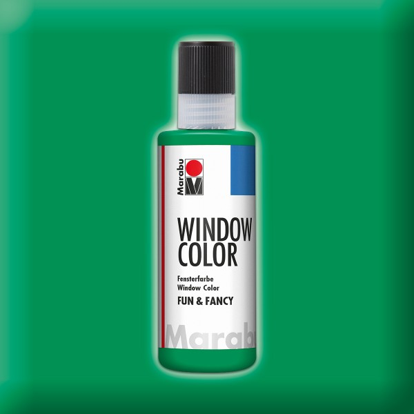 Marabu fun&fancy 80ml saftgrün Windowcolor