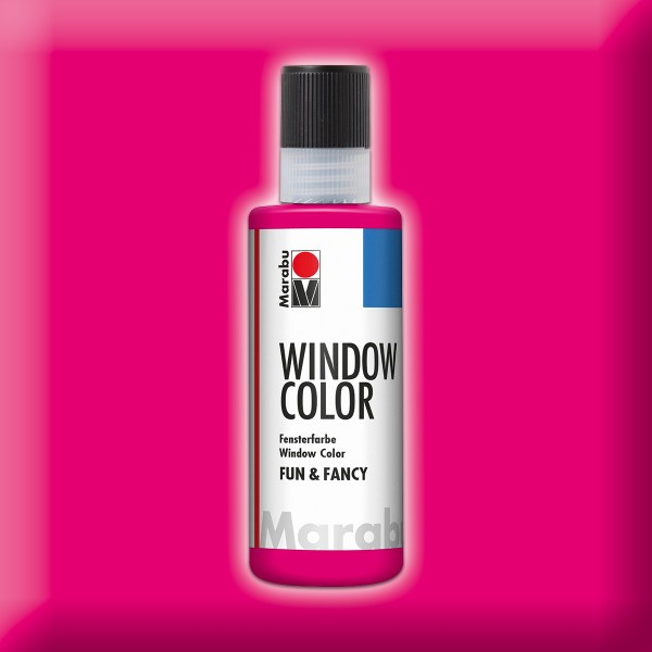 Marabu fun&fancy 80ml himbeere Windowcolor