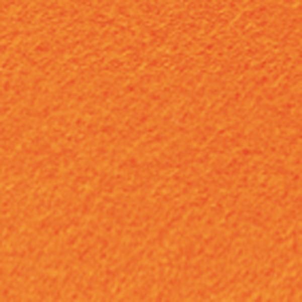 Bastelfilz ca. 1mm 20x30cm orange 150g/m², 100% Polyester, klebefleckenfrei