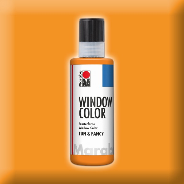 Marabu fun&fancy 80ml bernstein Windowcolor