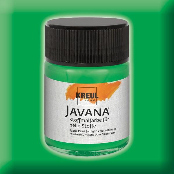 Javana Stoffmalfarbe helle Stoffe 50ml brillantgrün