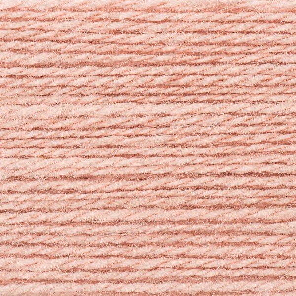 Creative Nature 50g ca. 100m rosa Nadel Stricken Nr. 3,5, 100% Hanf