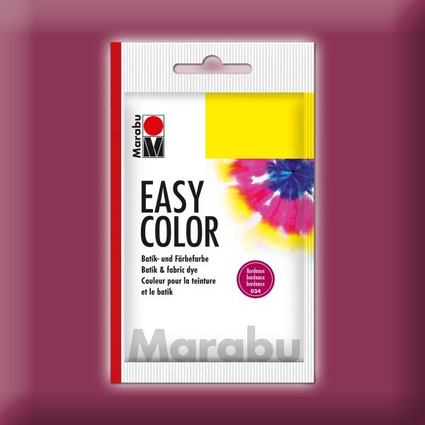 Marabu EasyColor Batik-/Textilfarbe 25g bordeaux