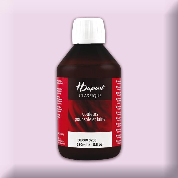H.Dupont Classique 250ml Parme/veilchen Seidenmalfarbe, Dampffixierung