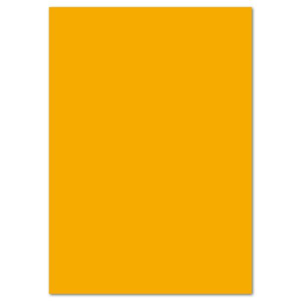 Tonkarton 220g/m² DIN A4 100 Bl. maisgelb