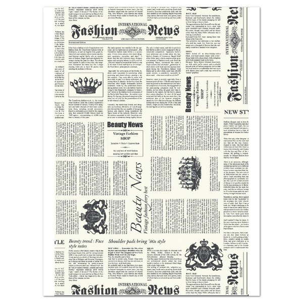 Decoupagepapier Newspaper von Décopatch, 30x40cm, 20g/m²