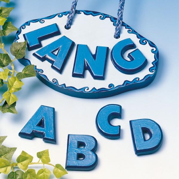 Gießform Buchstaben ca. 3,5cm A-Z Kunststoff