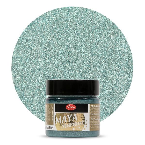 Maya Stardust 45ml eisblau
