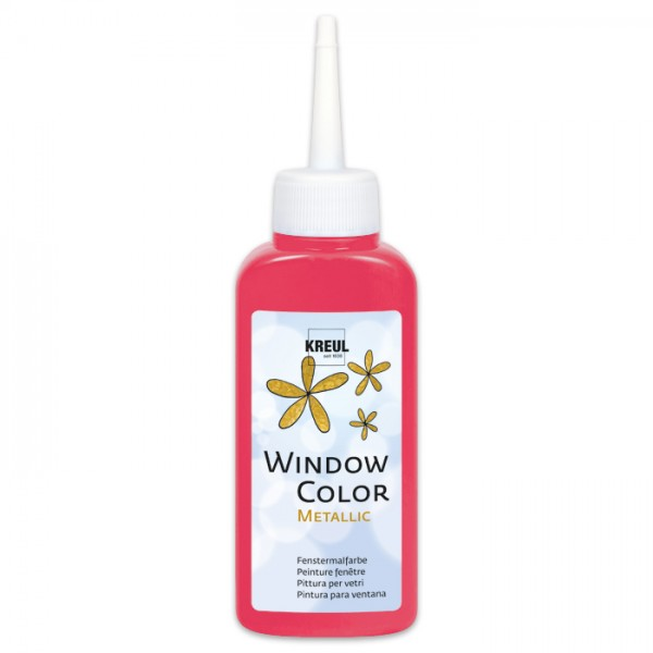 Kreul Window Color 80ml metallic-rot