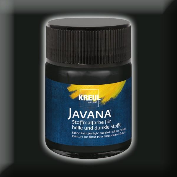 Javana Stoffmalfarbe 50ml schwarz