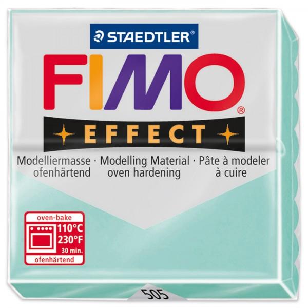 FIMO effect 55x55x15mm 57g pastell mint ofenhärtende Modelliermasse