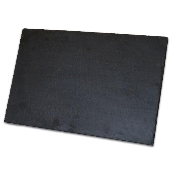 Schieferplatte 30x20x0,5cm ca. 650g, für Innen & Außem