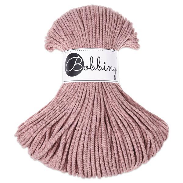 Bobbiny Rope-Garn Junior Ø3mm blush ca. 200g-300g, 100% Baumwolle, LL 100m