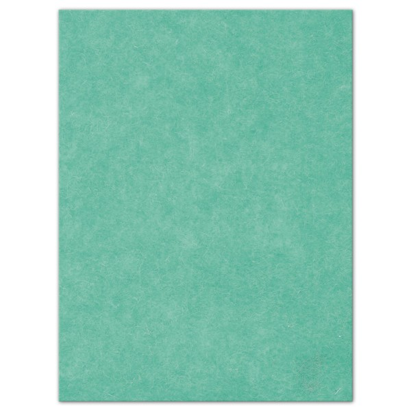 Wollfilz-Platte 4mm 30x40cm mint 70% Polyester, 30% Wolle