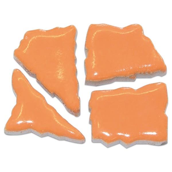 Flip-Keramik 2-6cm 3kg ca. 260 Steine sanddorn ca. 6,5mm