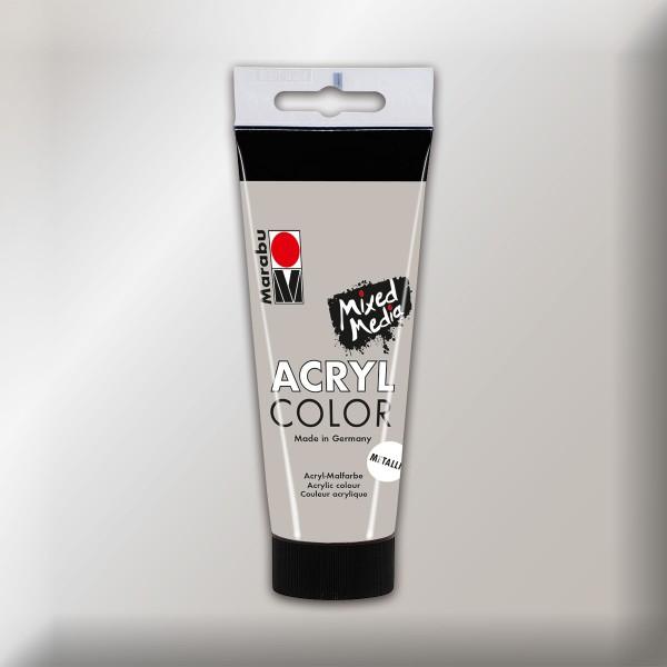 Marabu Acryl Color 100ml silber