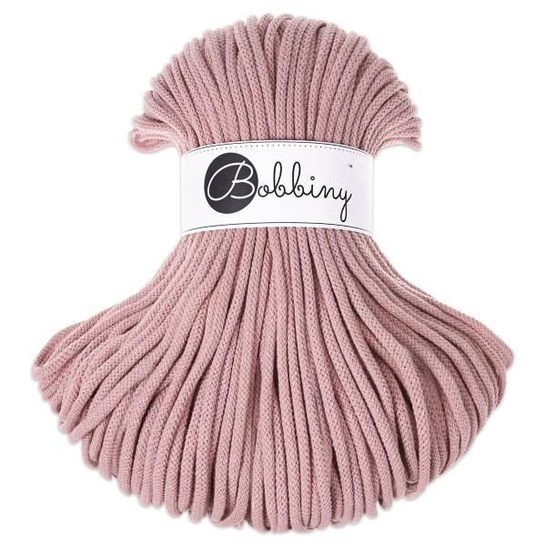 Bobbiny Rope-Garn Premium Ø5mm blush ca. 400g-500g, 100% Baumwolle, LL 100m