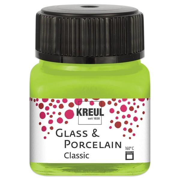Glass & Porcelain Classic 20ml maigrün brillant glänzend