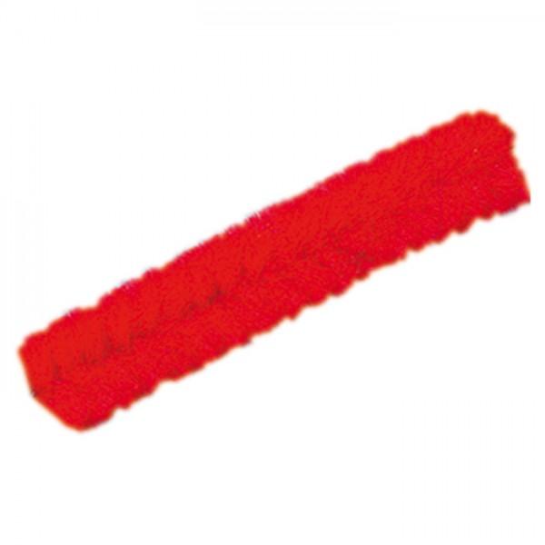 Chenilledraht 8mm 50cm 10 St. hochrot Biegeplüsch/Pfeiffenputzer