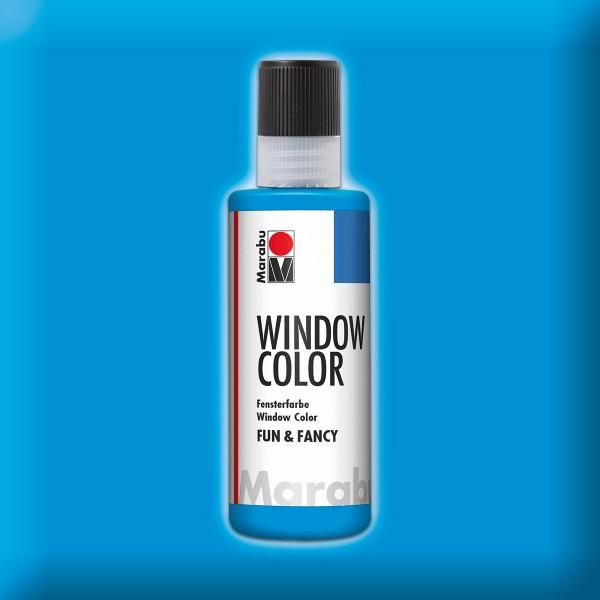 Marabu fun&fancy 80ml azurblau Windowcolor